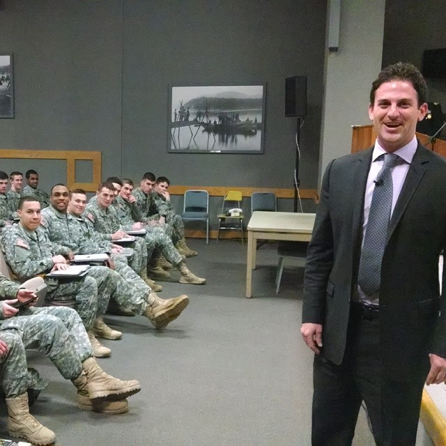 [Jared Cohen en West Point]